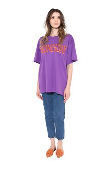 ALBERTA FERRETTI WEDNESDAY IN VIOLET T-shirt Woman f