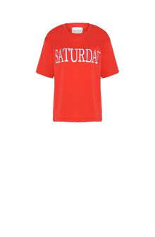 ALBERTA FERRETTI SATURDAY IN RED T-shirt D e
