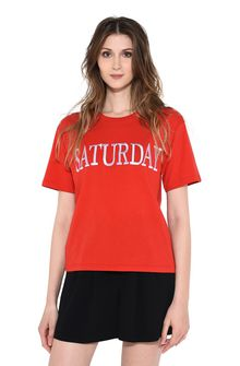 ALBERTA FERRETTI SATURDAY IN RED T-shirt D r