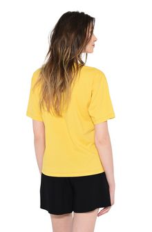ALBERTA FERRETTI THURSDAY IN YELLOW T-shirt Woman d