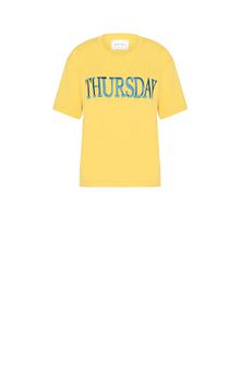 ALBERTA FERRETTI THURSDAY IN YELLOW T-shirt Woman e