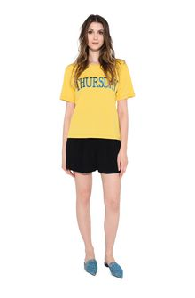 ALBERTA FERRETTI THURSDAY IN YELLOW T-shirt Woman f