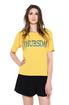 ALBERTA FERRETTI THURSDAY IN YELLOW T-shirt Woman r