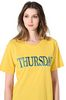 ALBERTA FERRETTI THURSDAY IN YELLOW T-shirt Woman a