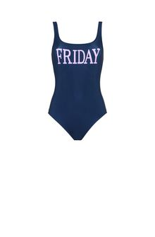 ALBERTA FERRETTI FRIDAY IN BLUE SWIMMING COSTUME D d