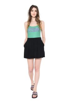 ALBERTA FERRETTI TUESDAY IN GREEN SWIMSUIT Woman a