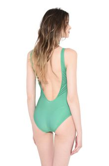 ALBERTA FERRETTI TUESDAY IN GREEN SWIMSUIT Woman e