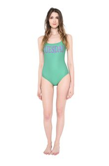 ALBERTA FERRETTI TUESDAY IN GREEN SWIMSUIT Woman f