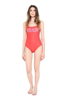 ALBERTA FERRETTI SWIMMING COSTUME D SATURDAY IN RED f