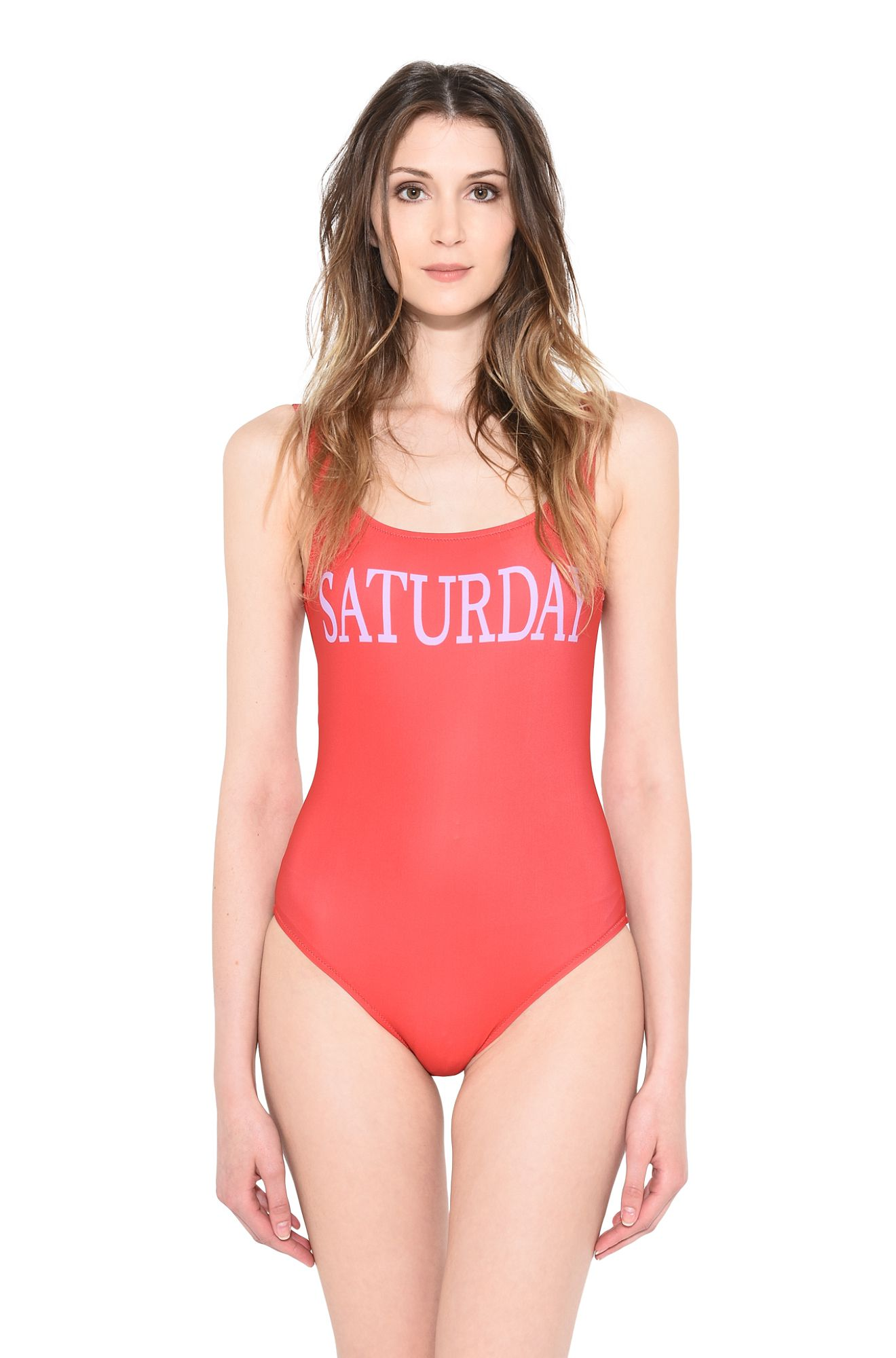 ALBERTA FERRETTI SWIMMING COSTUME D MONDAY IN PINK r