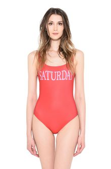 ALBERTA FERRETTI SATURDAY IN RED SWIMSUIT D r
