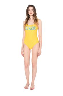 ALBERTA FERRETTI THURSDAY IN YELLOW SWIMMING COSTUME D f