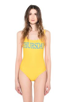 ALBERTA FERRETTI THURSDAY IN YELLOW SWIMMING COSTUME D r