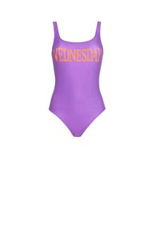 ALBERTA FERRETTI WEDNESDAY IN VIOLET SWIMSUIT D d