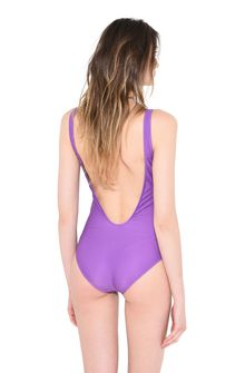 ALBERTA FERRETTI WEDNESDAY IN VIOLET SWIMMING COSTUME D e