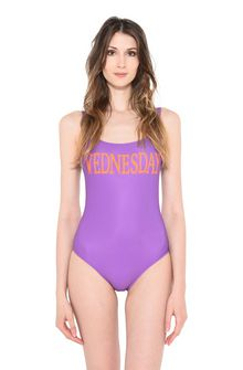 ALBERTA FERRETTI WEDNESDAY IN VIOLET Swimsuit D r