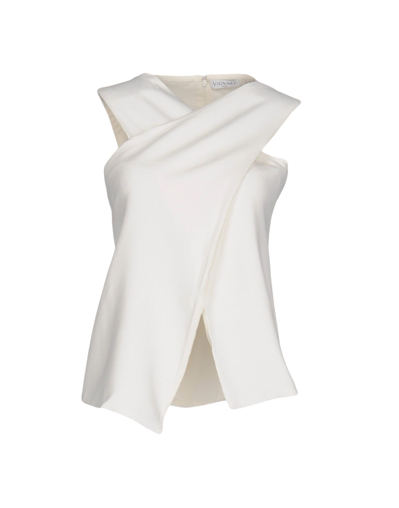 VIONNET Топ без рукавов vionnet vionnet платье из шелка sf 145254
