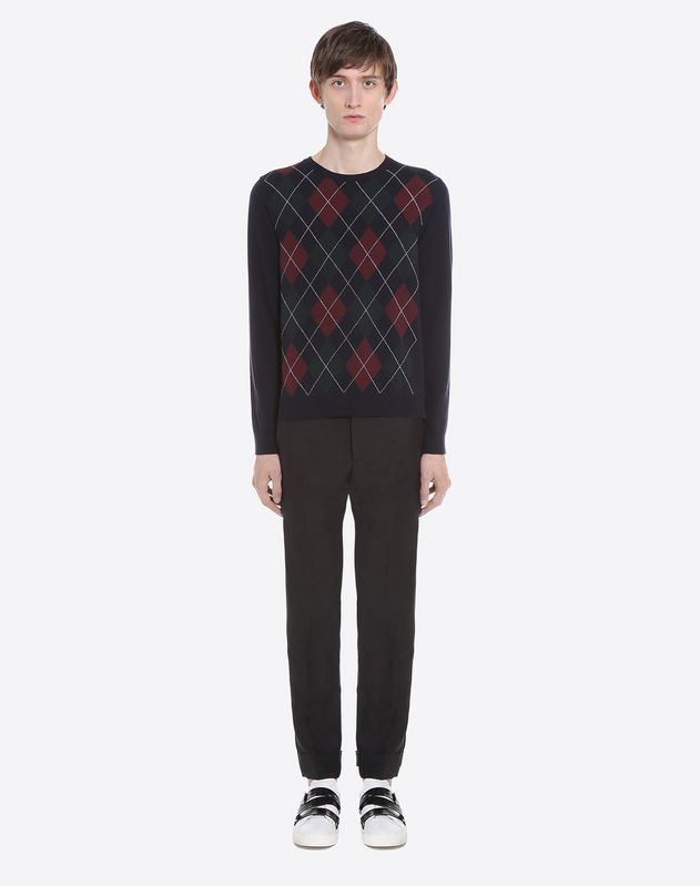Rockstud Untitled diamond sweater