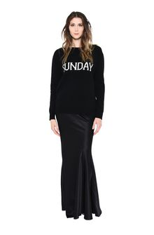 ALBERTA FERRETTI SUNDAY IN BLACK & WHITE KNITWEAR D f