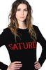 ALBERTA FERRETTI SATURDAY IN BLACK & RED KNITWEAR Woman a