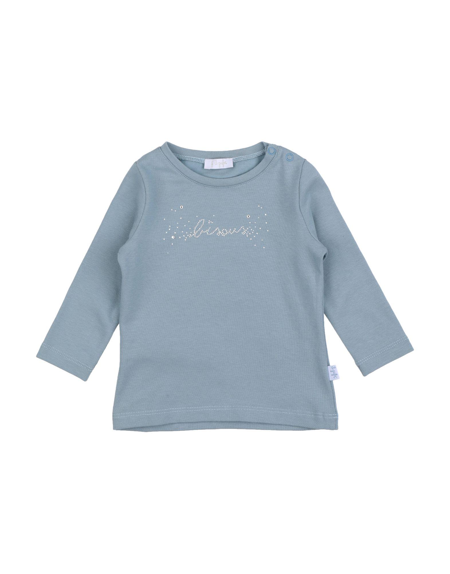 Il Gufo Kids' T-shirts In Blue