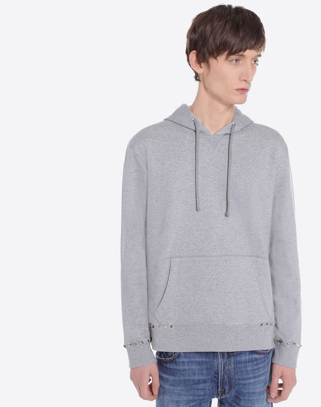 Rockstud Untitled hooded sweatshirt