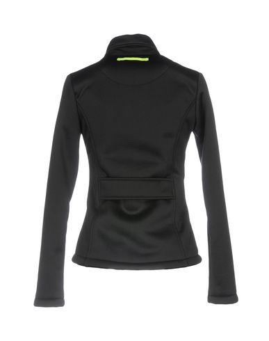 Фото 2 - Женскую куртку SUNSTRIPES черного цвета