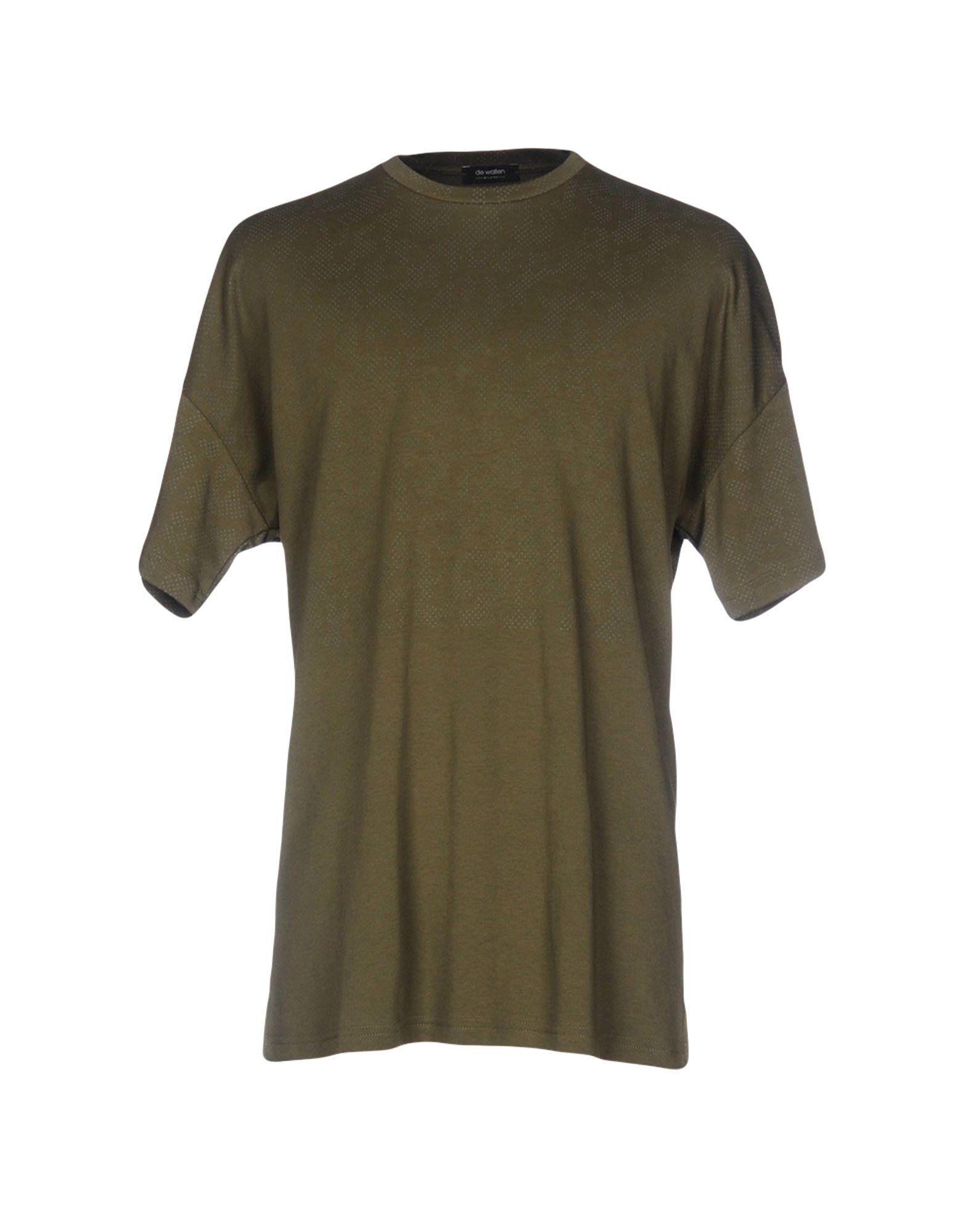 DE WALLEN T-Shirt in Military Green