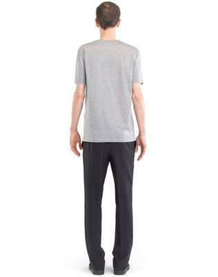 "LANVIN T-SHIRT WITH ""L"" APPLIQUÉ Polos & T-Shirts U d"