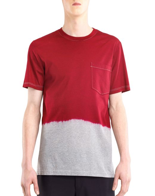 lanvin dip dye t-shirt men