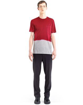 LANVIN DIP DYE T-SHIRT Polos & T-Shirts U r