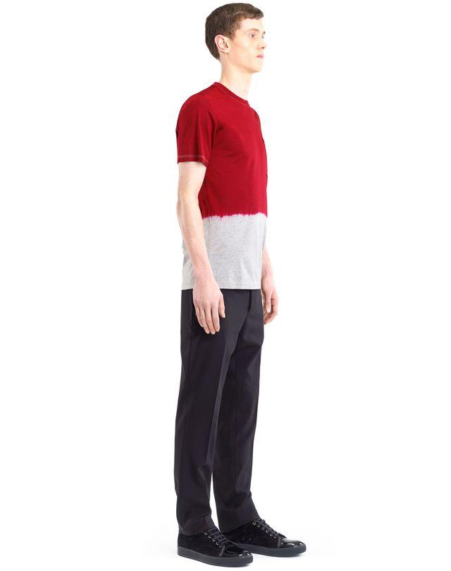 LANVIN DIP DYE T-SHIRT Polos & T-Shirts U e