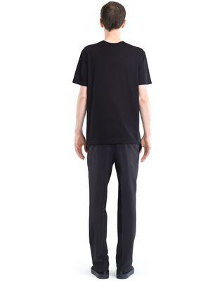 "LANVIN BLACK ""FLYING LOBSTER"" T-SHIRT Polos & T-Shirts U d"