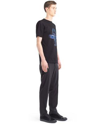 "LANVIN BLACK ""FLYING LOBSTER"" T-SHIRT Polos & T-Shirts U e"