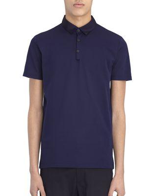 LANVIN POLOSHIRT MIT SCHMALER PASSFORM AUS PIKEE Polos & T-Shirts U f