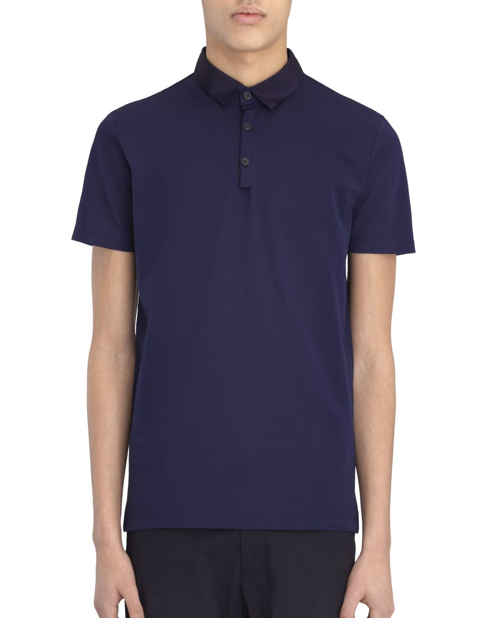 Lanvin Slim Fit Piqu Polo Shirt Polos T Shirts Men