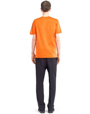 "LANVIN ORANGE ""PENCILS SHAVINGS"" T-SHIRT BY CÉDRIC RIVRAIN Polos & T-Shirts U d"