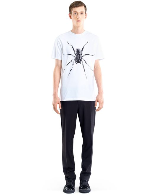 "lanvin white ""spider"" t-shirt men"