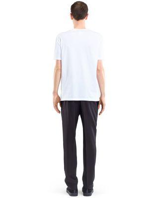 "LANVIN WHITE ""SPIDER"" T-SHIRT Polos & T-Shirts U d"