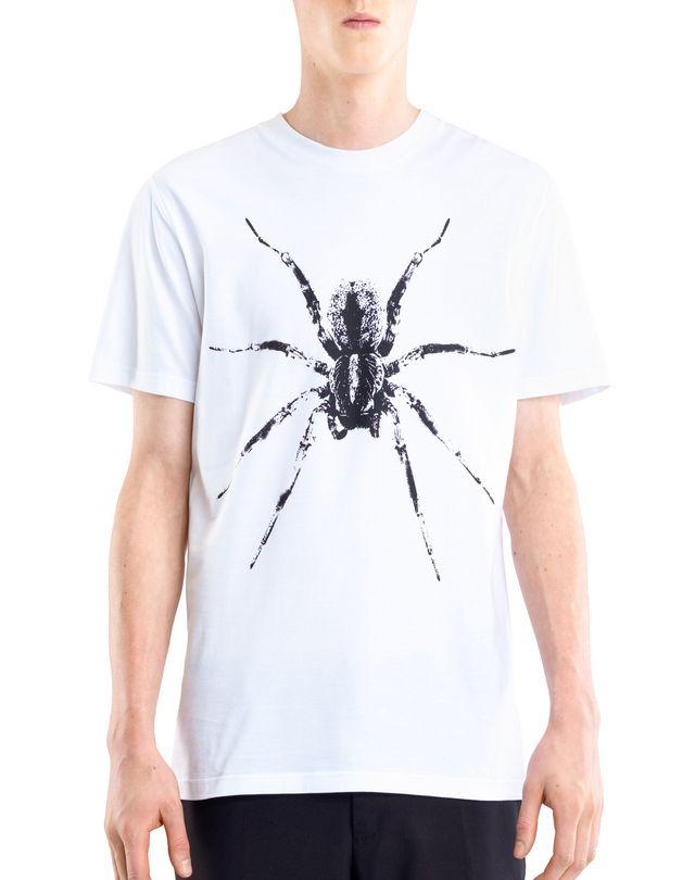 "LANVIN WHITE ""SPIDER"" T-SHIRT Polos & T-Shirts U f"