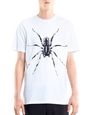 "LANVIN Polos & T-Shirts Man WHITE ""SPIDER"" T-SHIRT f"