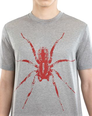 "LANVIN BLACK ""SPIDER"" T-SHIRT Polos & T-Shirts U a"