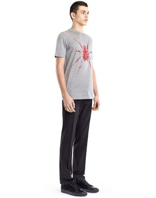 "LANVIN BLACK ""SPIDER"" T-SHIRT Polos & T-Shirts U e"