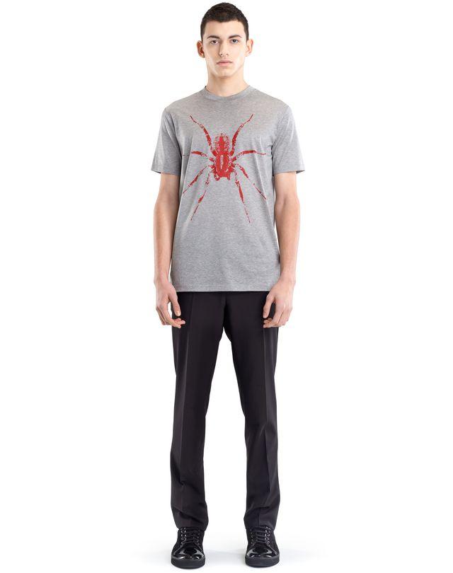 "LANVIN BLACK ""SPIDER"" T-SHIRT Polos & T-Shirts U r"