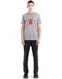 "LANVIN Polos & T-Shirts Man BLACK ""SPIDER"" T-SHIRT f"