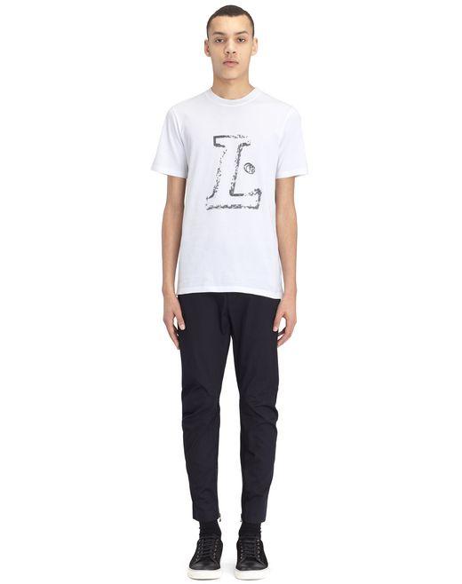 "lanvin white ""l"" t-shirt men"