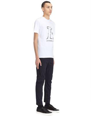 "LANVIN WHITE ""L"" T-SHIRT Polos & T-Shirts U e"
