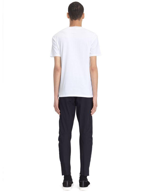 "LANVIN WHITE ""L"" T-SHIRT Polos & T-Shirts U d"