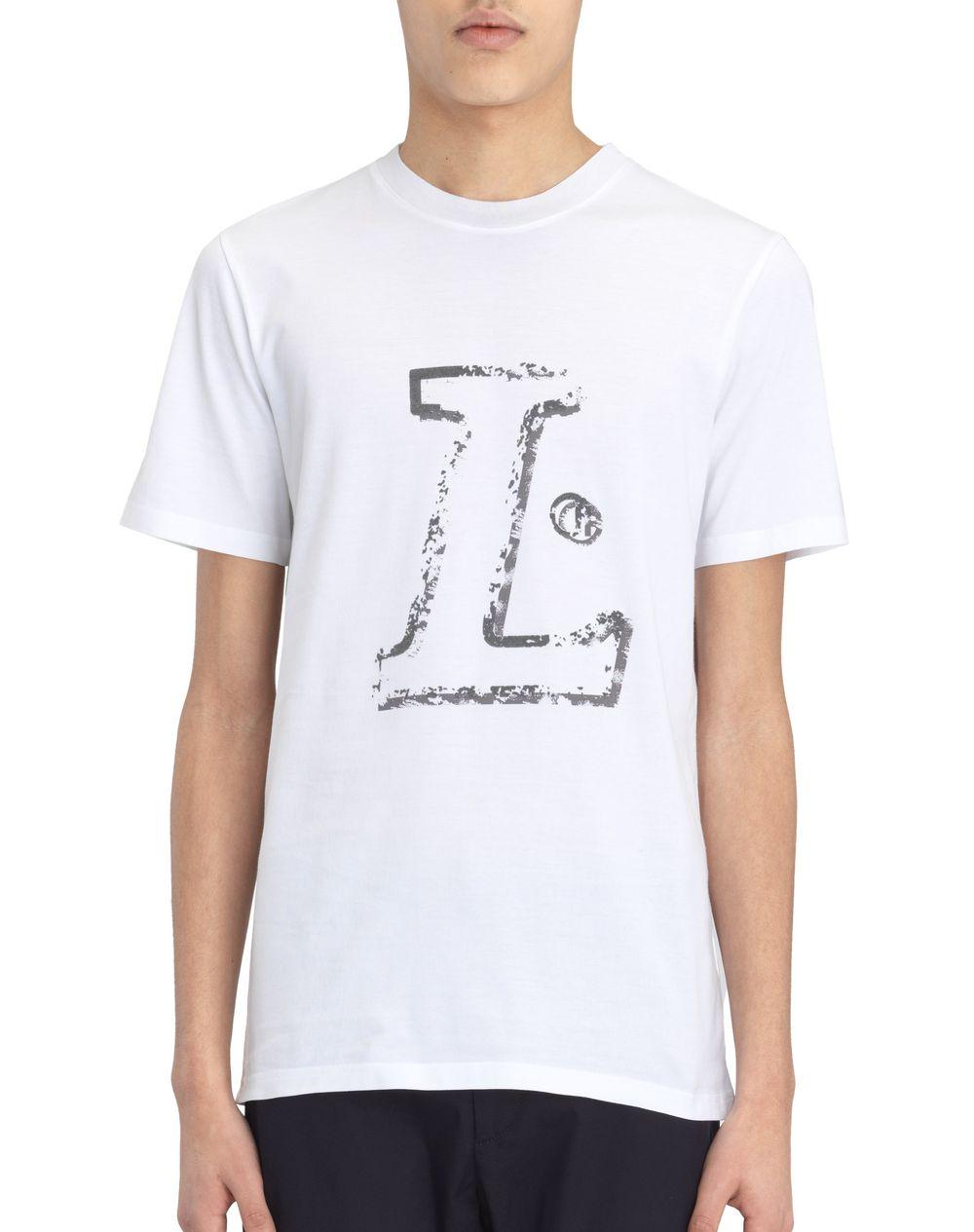 """WHITE """"L"""" T-SHIRT - Lanvin"""