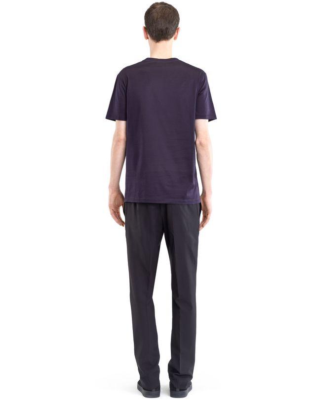 "LANVIN BLACK ""L"" T-SHIRT Polos & T-Shirts U d"